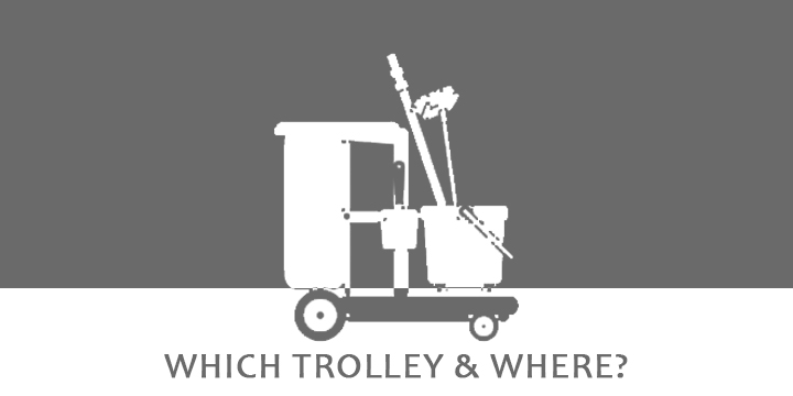 Which trolley & where? – Buckets, Trolleys & Carts