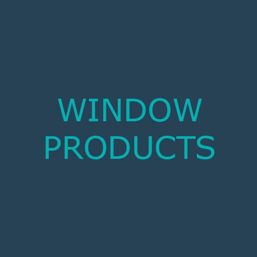 WINDOW PRODUCTS